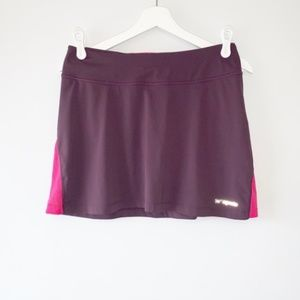 Patagonia purple athletic skort